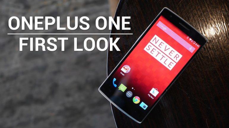 OnePlus One First Look and Hands On!