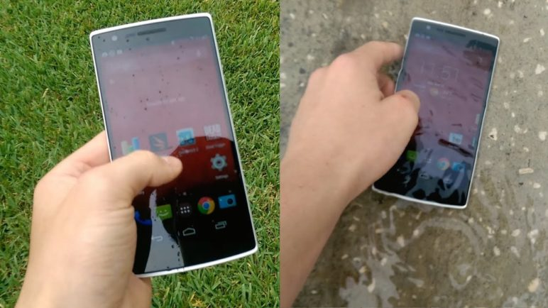 OnePlus One Water Test - Is It Water Proof?