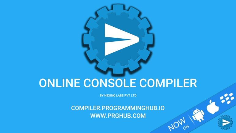 Online Console Compiler | Write, Compile & Run Code in Phone