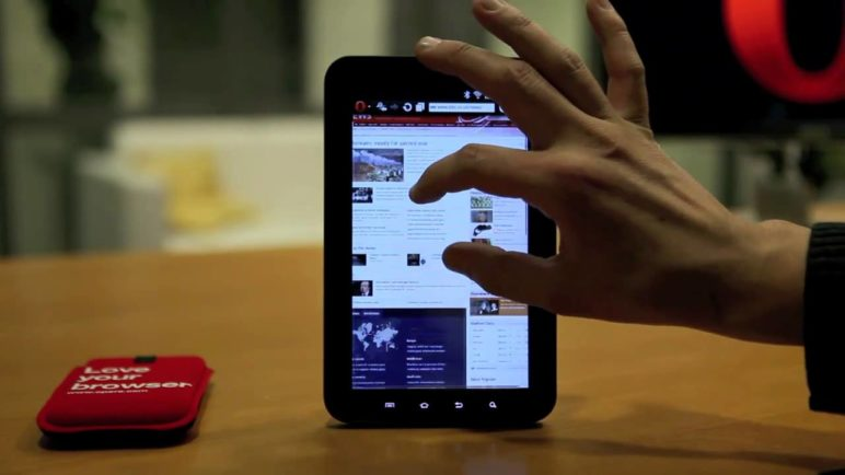 Opera for Tablets preview