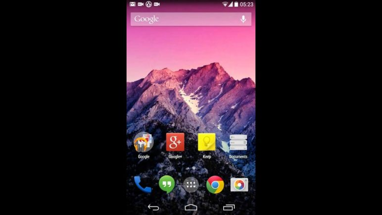 ParanoidAndroid 4.5 Recents Early Preview