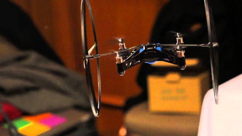 Parrot AR.Drone Mini at CES 2014