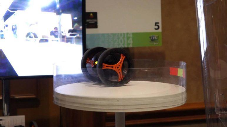 Parrot Jumping Sumo at CES 2014