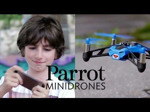 Parrot MiniDrones - 30 sec demo