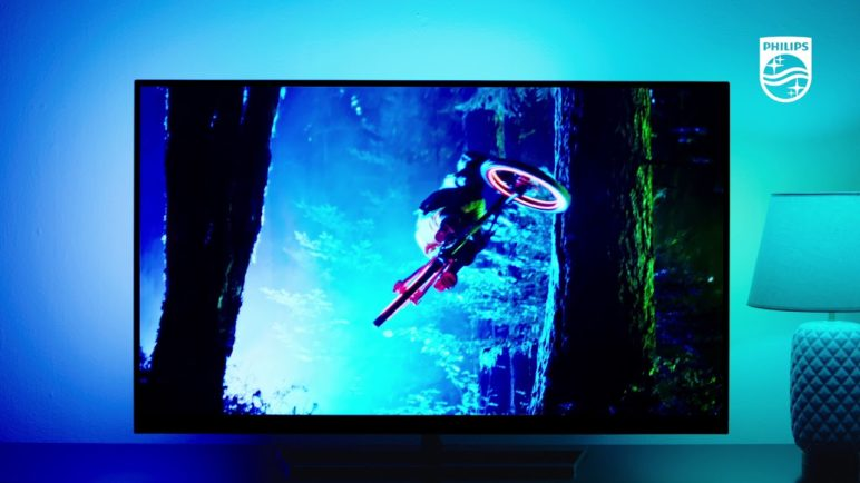Philips TV presents Ambilight | See the difference