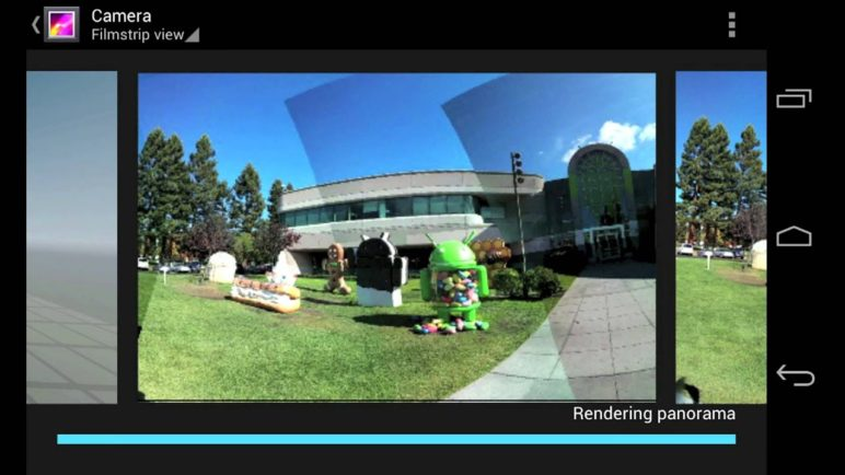 Photo Sphere, the new camera experience on Nexus 4