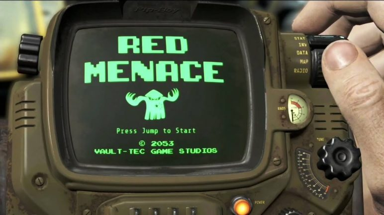 Pip boy Collectors Edition Fallout 4 E3 2015 Reveal Bethesda Conference BE3