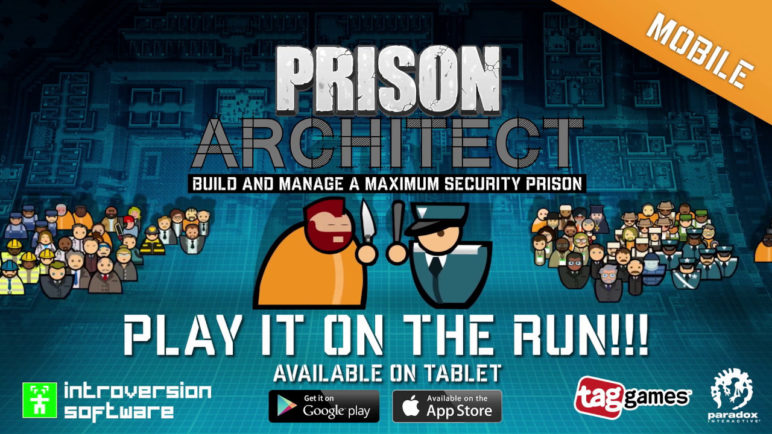Prison Architect: Mobile - Coming this Spring!