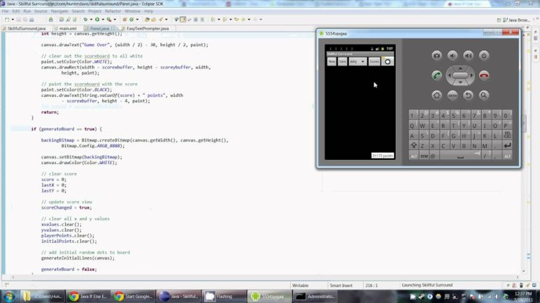 Programming an Android App - Skillful Surround