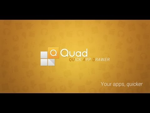 Quad App Drawer