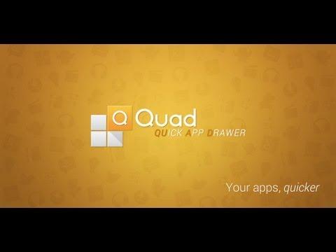 Quad App Drawer