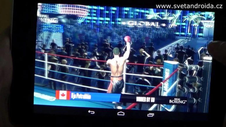 Real Boxing - nejlepší boxerská hra pro Android