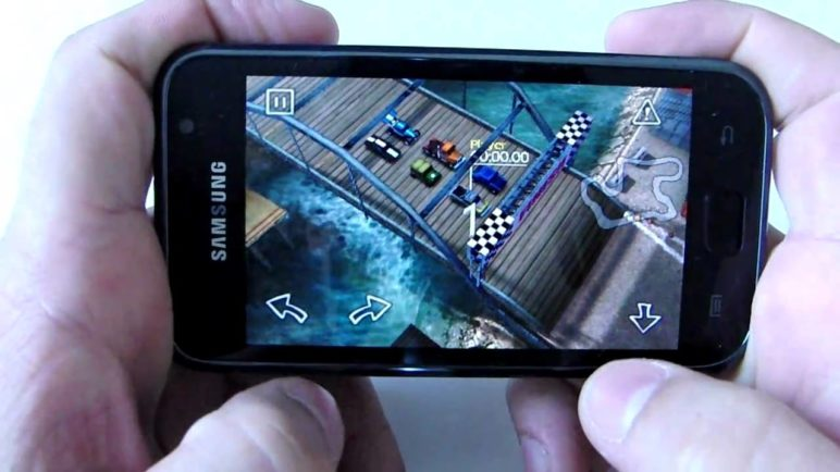 Reckless Racing Android games by Polarbit on Galaxy S