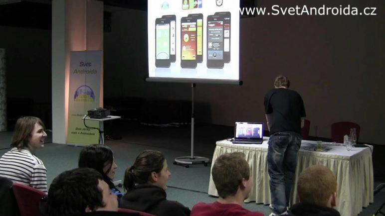 Report z první české HTC Android RoadShow - krátká verze
