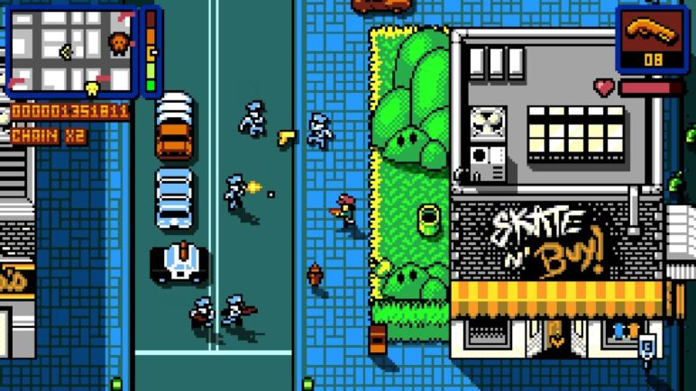 Retro City Rampage DX - Android Launch Trailer