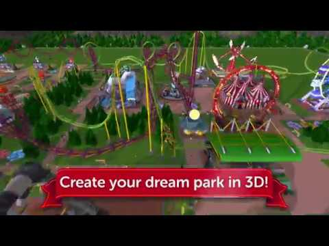 RollerCoaster Tycoon Touch - Official iOS Launch Trailer