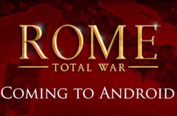 Oblíbená strategie Rome: Total War se konečně dostává na Android