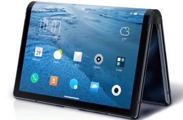 První skládací telefon je tady: FlexPai se chlubí obrovským displejem a zajímavou cenou