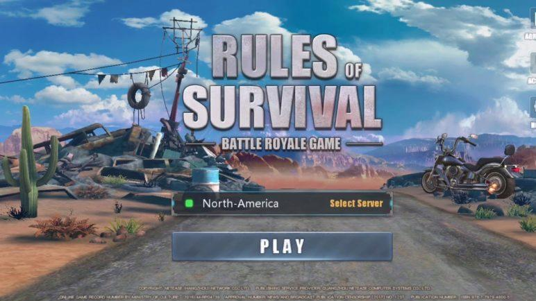 Rules of Survival game trailer