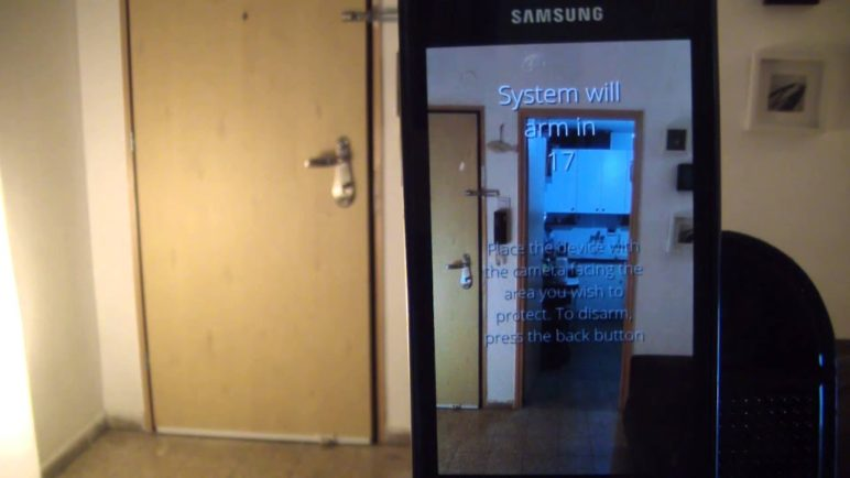 Salient Eye , Home security system app - Turn a phone into a motion sensing camera and burglar alarm