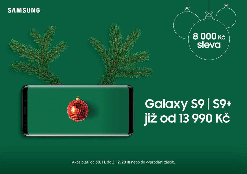 samsung advent sleva galaxy s9