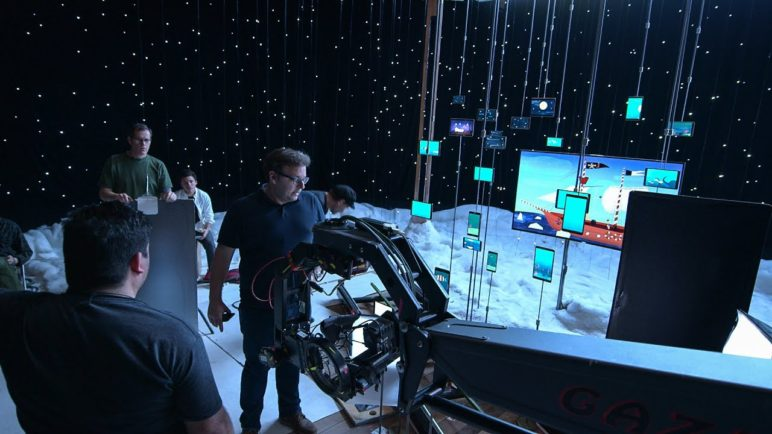 "Samsung: Behind the scenes of ""Holiday Dreams"""
