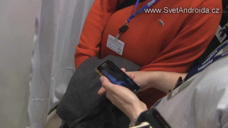 Samsung Galaxy Beam na MWC 2012