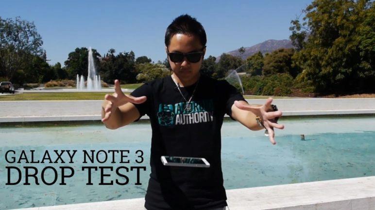 Samsung Galaxy Note 3 Drop Test!