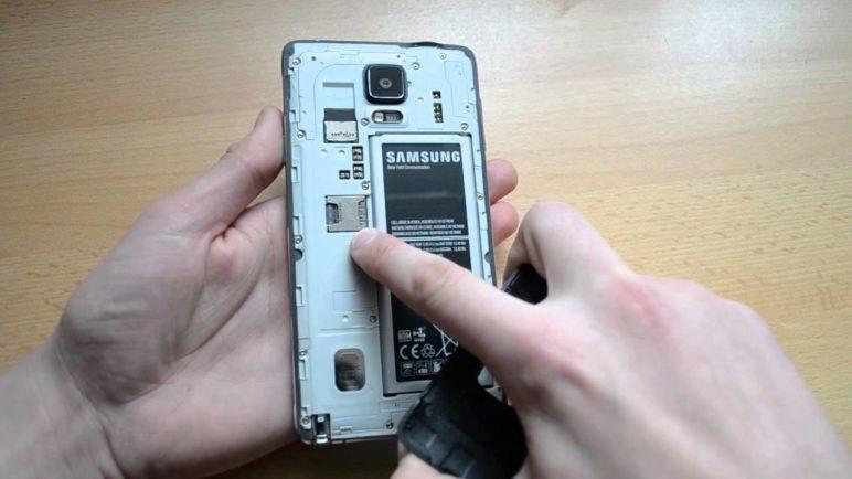 Samsung Galaxy Note 4 - konstrukce