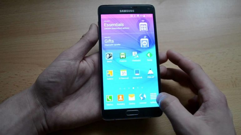 Samsung Galaxy Note 4 - systém Android