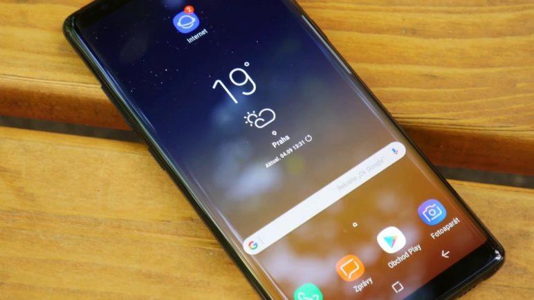 Samsung Galaxy Note 8 - první pohled