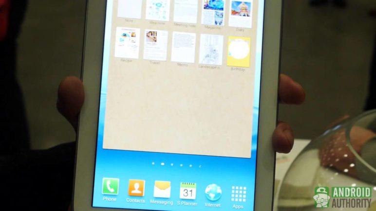 Samsung Galaxy Note 8.0 - first look!
