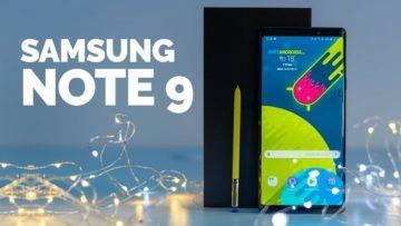 Samsung Galaxy Note 9 - první pohled