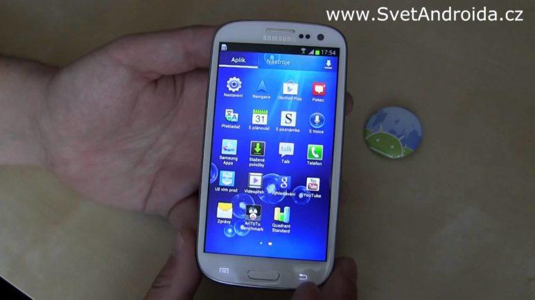 Samsung Galaxy S3 - aplikace [preview]