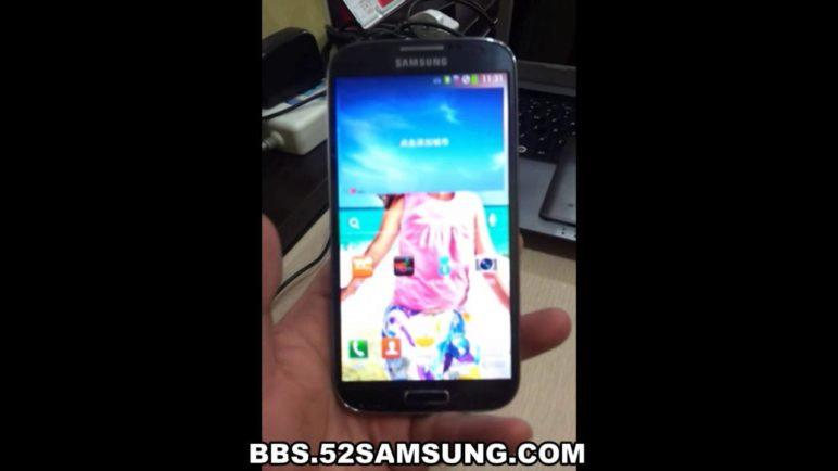Samsung Galaxy S4 World First Hands-on i9502 China Unicom Ver.