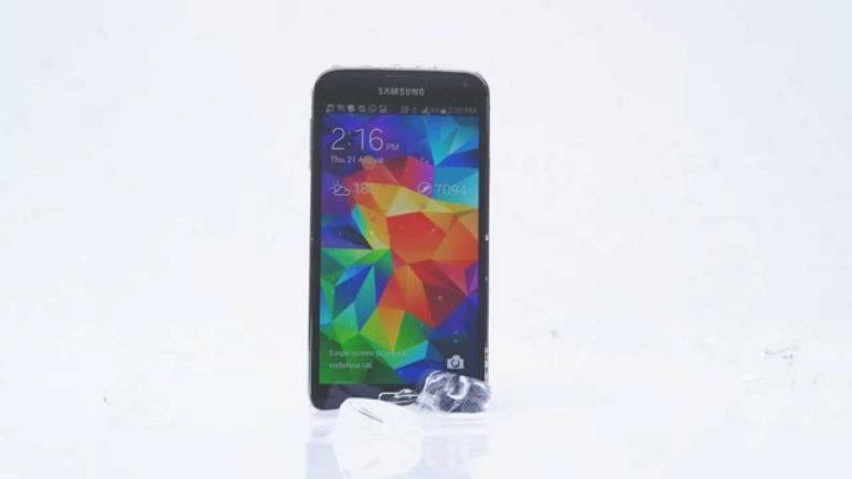Samsung Galaxy S5 ALS Ice Bucket Challenge