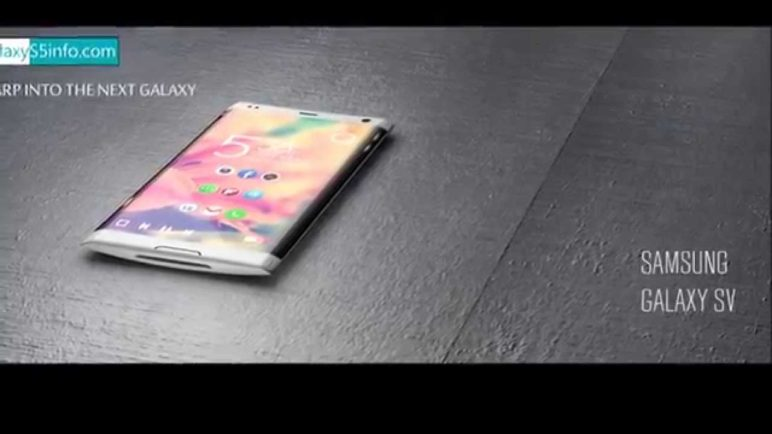 Samsung Galaxy S5 Concept - Flexible Display, Touch Sensor & Much More