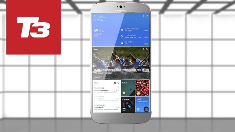 Samsung Galaxy S5 concept render