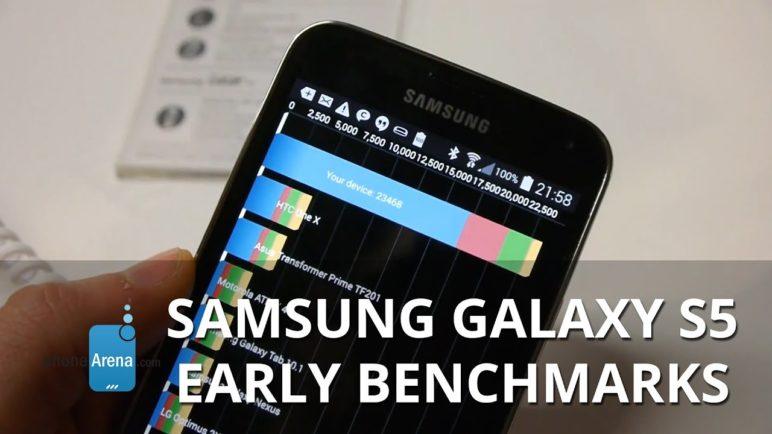 Samsung Galaxy S5: early benchmarks (Quadrant, AnTuTu, GFXBench, Basemark X)