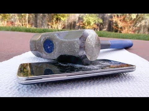 Samsung Galaxy S5 Hammer Smash Fail = Battery Explosion