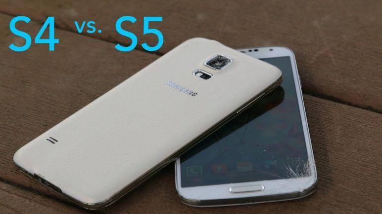 Samsung Galaxy S5 vs Samsung Galaxy S4 Drop Test!