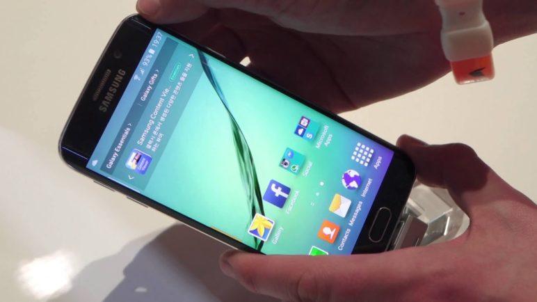Samsung Galaxy S6 Edge - první pohled