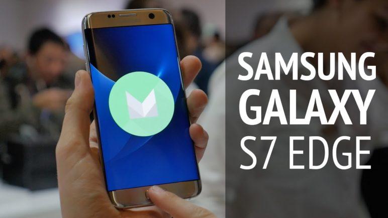 Samsung Galaxy S7 Edge - první pohled