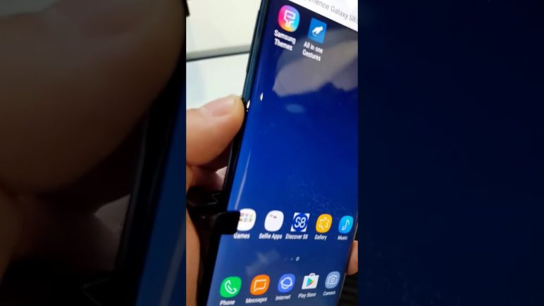 Samsung Galaxy S8 Bixby Button Re-Mapping
