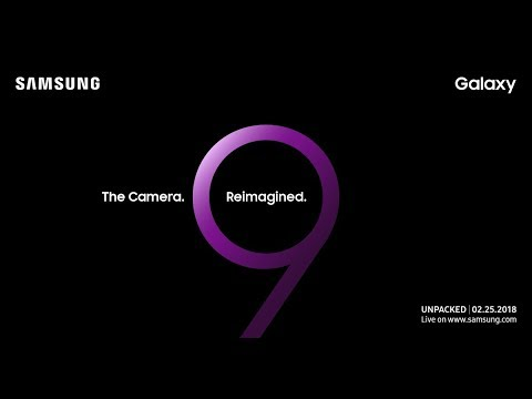 Samsung Galaxy S9 Unpacked: Official Replay