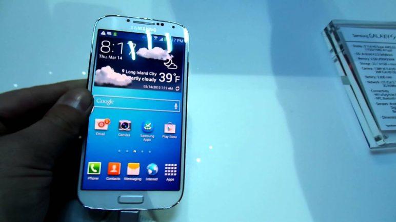 Samsung Galaxy SIV - představení New York