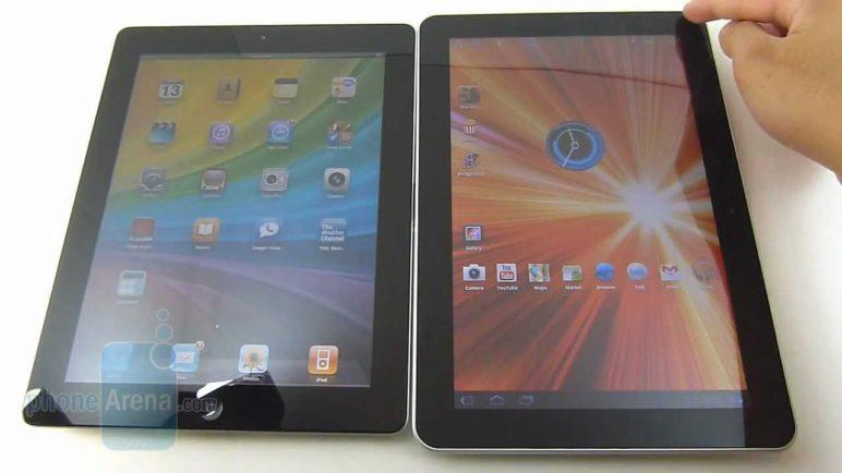 Samsung GALAXY Tab 10.1 vs Apple iPad 2