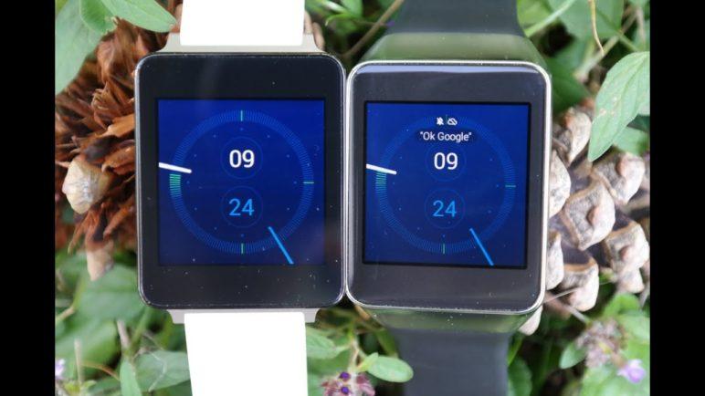 Samsung Geal Live VS LG G Watch (první pohled)