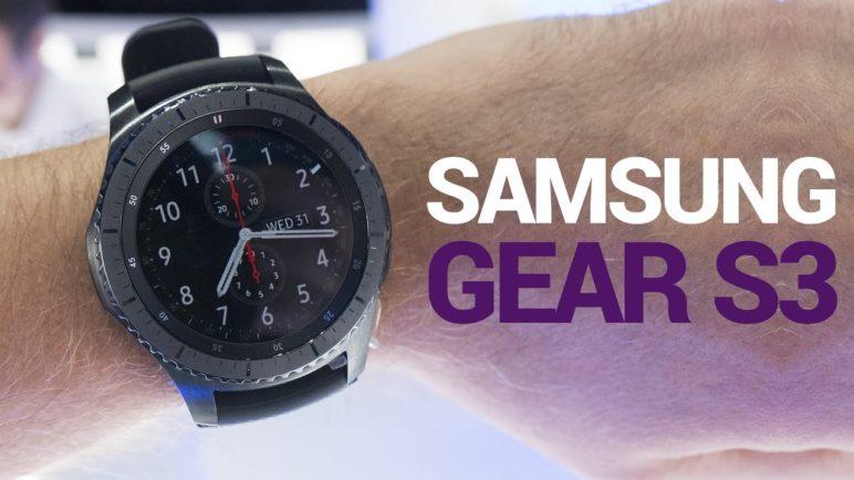 Samsung Gear S3 - první pohled