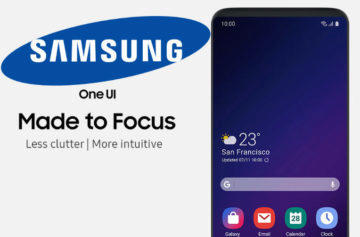 samsung one ui galaxy s8 note 8